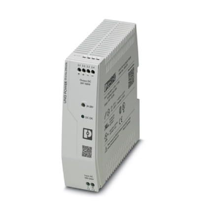 2904376 - Primary-switched UNO power supply for DIN rail mounting, input: 1-phase, output: 24 V DC/150 W